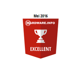 Hardware.info Mei 2016 Excellent Award