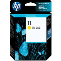 HP 11 (C4838A) Inktcartridge Geel