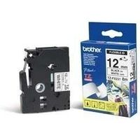 Brother TZe-FX231 Tape Zwart op wit (12 mm)