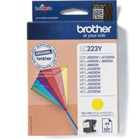 Brother LC-223Y Inktcartridge Geel