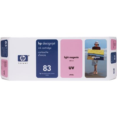 HP 83 (C4945A) Inktcartridge UV-licht-magenta