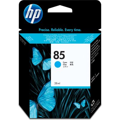 HP 85 (C9425A) Inktcartridge Cyaan