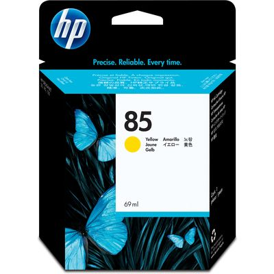 HP 85 (C9427A) Inktcartridge Geel