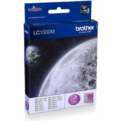 Brother LC-1000M Inktcartridge Magenta