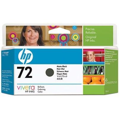 HP 72 (C9403A) Inktcartridge Mat-zwart