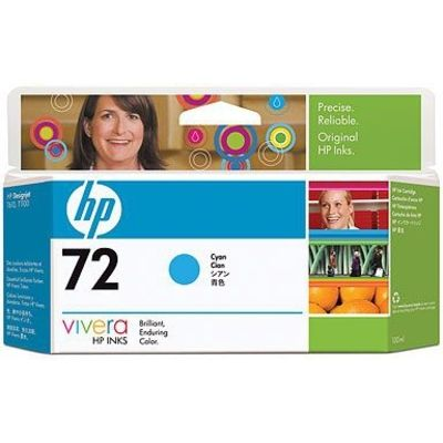 HP 72 (C9371A) Inktcartridge Cyaan