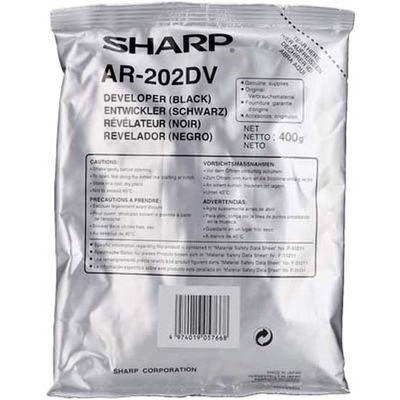 Sharp AR-202DV Developer Zwart