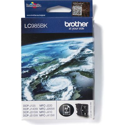Brother LC-985BK Inktcartridge Zwart