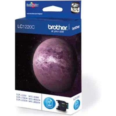 Brother LC-1220C Inktcartridge Cyaan