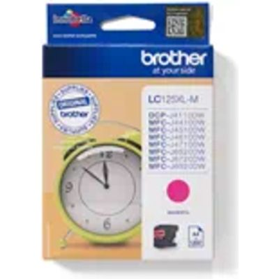 Brother LC-125XLM Inktcartridge Magenta Hoge capaciteit
