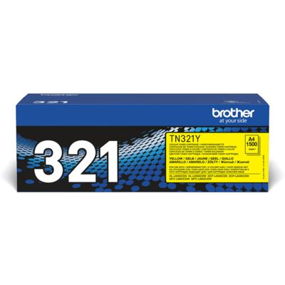 Brother TN-321Y Toner Geel