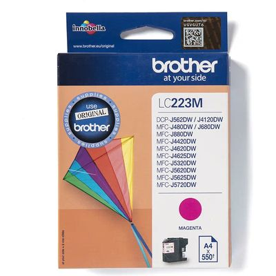 Brother LC-223M Inktcartridge Magenta