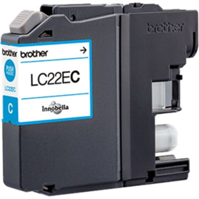 Brother LC-22EC Inktcartridge Cyaan