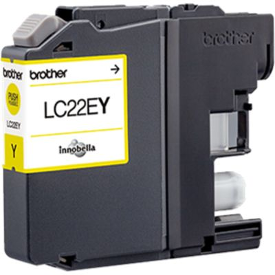 Brother LC-22EY Inktcartridge Geel