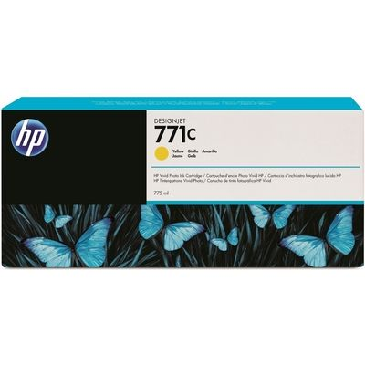 HP 771C (B6Y10A) Inktcartridge Geel