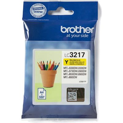 Brother LC-3217Y Inktcartridge Geel