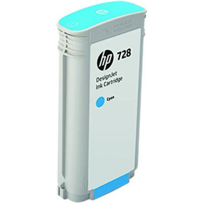 HP 728 (F9J67A) Inktcartridge Cyaan