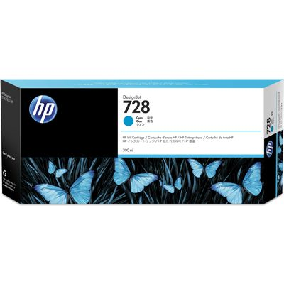 HP 728 (F9K17A) Inktcartridge Cyaan