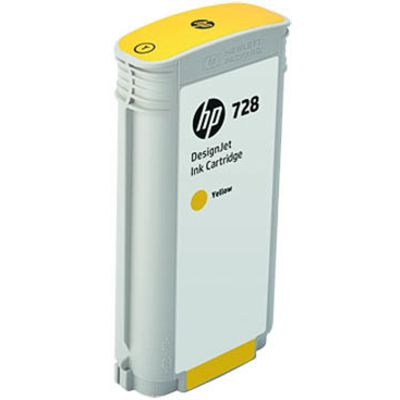 HP 728 (F9J65A) Inktcartridge Geel